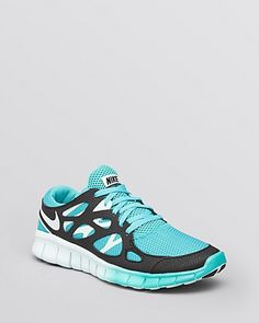 Women's Nike Free Run+ 2 Sport Turquoise/Black/Fiberglass