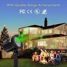 Christmas Projector Laser Lights Decor Wireless Outdoor Waterproof Party Garden for sale online