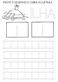 Nossa Pedagogia: Vogais pontilhadas Material Didático, Line Chart, Map, Writing Activities, Abc Centers, Polka Dot Letters, Autism, Location Map, Peta