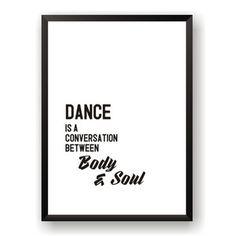 Plakát Nord & Co Dance, 40 x 50 cm