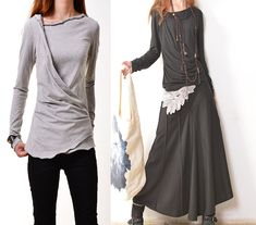 Firefly stretchy cotton shirt Y3109 par idea2lifestyle sur Etsy, $45.00