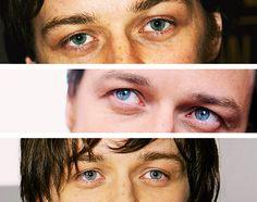 """"""" James McAvoy + eyes """""""