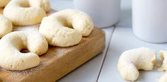 These traditional vanilla horseshoe biscuits from The Adriatic Kitchen are coated with vanilla sugar and baked and enjoyed in households around Croatia.
