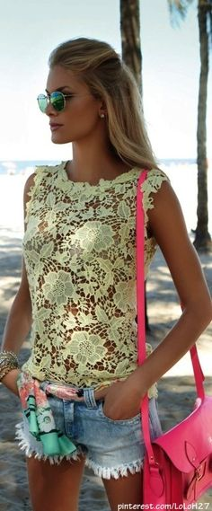 cute.. id wear this out lookin sexy its a perfect outfit for a hot day with a Hottie :)