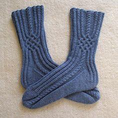 Jeans Socken, a free pattern on Ravelry for Sockengarten. Jeans Socken, a free pattern on Ravelry for Sockengarten. Diy Crochet And Knitting, Crochet Slippers, Loom Knitting, Knitting Socks, Hand Knitting, Knitted Hats, Knit Socks, Bed Socks, Knit Stockings