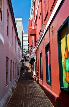 Bermuda - colorful buildings. Pin provided by Elbow Beach Cycles http://www.elbowbeachcycles.com