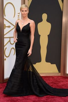 Charlize Theron ranked #1 in our 2014 Academy Award Red Carpet favorites