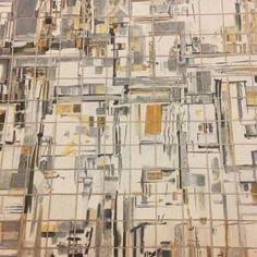 "#Azulejos#tiles#panel#detail#VieiradaSilva#amazing#portuguese#painter#internationalartist#""Ville_en_Extension""#1970#Paris#reproduced#by#ManuelCargaleiro#1997#portuguese#painter#underground#station#tileaddiction#Lisbon#Portugal by alexmaferreira"