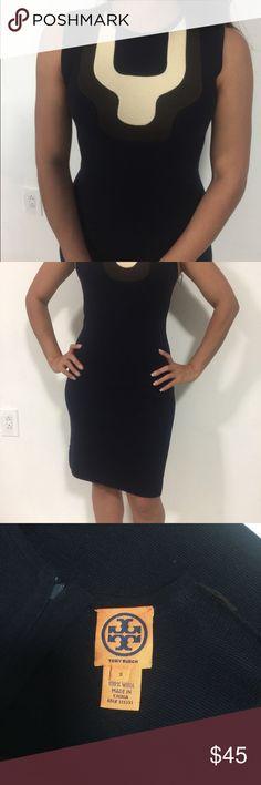 Tory Burch Black dress size small sleeveless Black Tory Burch dress size small sleeveless knee length Tory Burch Dresses