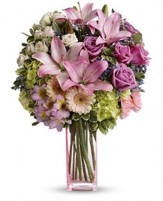Teleflora's Artfully Yours Bouquet  - #spring #flowers