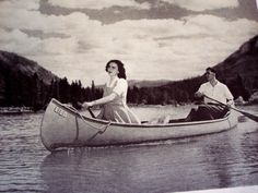 1946 Canoeing in Canada
