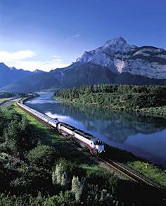 Rocky Mountaineer Railtours, Train Travel, Canadian Rockies.--Looking forward to going in 2014