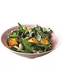 Cranberry Bean, Dandelion Green, and Toasted-Cornbread Salad Recipe