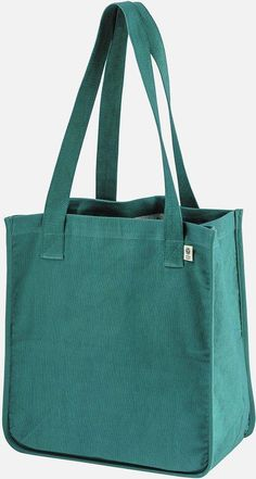 - Open main compartment - Organic cotton web handles Size: x x handle length Jute Tote Bags, Denim Tote Bags, Diy Tote Bag, Denim Purse, Denim Bag Patterns, Handmade Bags, Handmade Leather, Quilted Bag, Fabric Bags