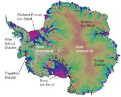 """McMurdo Station, Ross Island -  A massive slab of floating ice that juts from Antarctica's west coast could be in hot water soon. Warm ocean currents threaten to sneak up from below and torpedo the ice in coming decades, researchers report in the May 10 2012 Nature.  The degradation of the historically stable Filchner-Ronne Ice Shelf would upset ice on land, triggering runaway melting over a vast region of the continent and accelerating global sea level rise.  """"The loss of this ice shelf…"""
