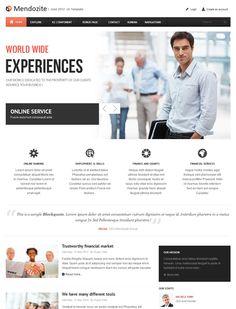 JA Mendozite - Business corporate Joomla 2.5 templates