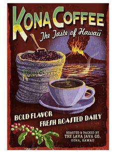 17 Wish List Worthy Vintage Coffee Posters - CoffeeSphere