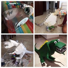 Recycled Dinosaur