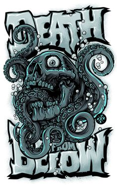 DEATH FROM BELOW on Behance