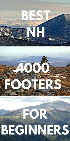 Easier 4000 footers in NH with great views. Great for motivating beginners! - trailtosummit.com