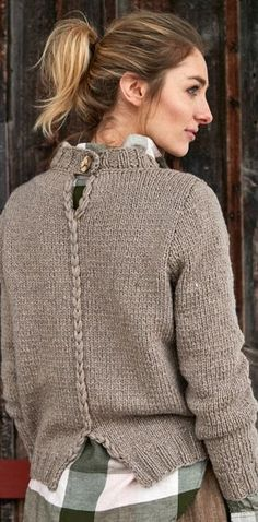 Knitting cardigan diy yarns 48 Ideas for 2019 Crochet Pullover Pattern, Sweater Knitting Patterns, Hand Knitting, Knit Crochet, Crochet Patterns, Beginner Knitting, Knitting Ideas, Knit Basket, Cardigan Fashion