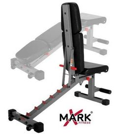 Xmark Bench Is A Great Purchase For Your Home Gym. You can do incline and decline with this bench! Commercial quality and a great price! Adjustable Workout Bench, Adjustable Weight Bench, Adjustable Weights, Home Made Gym, Diy Home Gym, Muscle Building Workouts, Gym Workouts, At Home Workouts, Workout Tanks