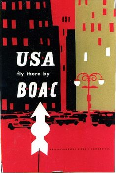 USA - Fly there by BOAC