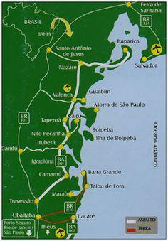 Taipus de Fora Beach From Brasil - Playas De Brasil