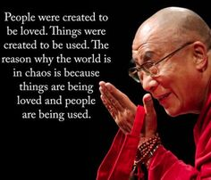 Dalai Lama wisdom about the chaos in the world. Quotable Quotes, Wisdom Quotes, Quotes To Live By, Me Quotes, Motivational Quotes, Inspirational Quotes, Chaos Quotes, Strong Quotes, Attitude Quotes