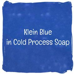 Klein blue is the color of royalty. It is rich in hue and a darker blue than our other micas. This is a great blue to use if your soap oils have a darker yellow
