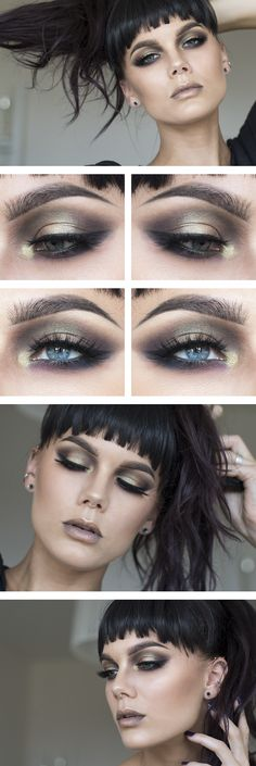 Smoky eye - love