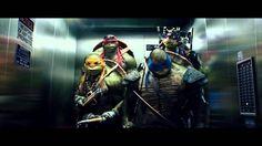 Teenage Mutant Ninja Turtles Elevator Scene Extended 2014 HD <<<< one of my favorite scenes in the movie.
