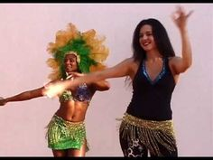 SAMBA RIO STYLE BASIC MOVE, PART 1: HIP BRAZIL DANCE SHOW WITH VANESSA ISAAC. www.hipbrazil.com