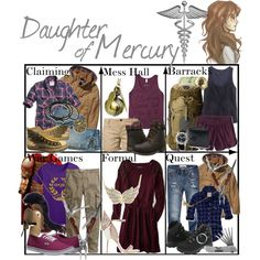 """Daughter of Mercury ~ Wardrobe"" by liesle on Polyvore"