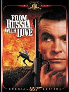 From Russia With Love Sean Connery - James Bond is sent to assist in the defection of Soviet consulate clerk Tatiana Romanova in Turkey,where SPECTRE plans to avenge Bond's killing of Dr. The Best Films, Great Films, Excellent Movies, Good Movies, 60s Films, Sean Connery James Bond, James Bond Movies, First Tv, About Time Movie