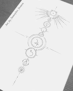 Enlightened astrology zodiac useful source Planet Tattoos, Time Tattoos, Tattoos For Guys, Deep Tattoo, Back Tattoo, Astrological Symbols, Astrology Zodiac, Astronomy Tattoo, Tattoos On Side Ribs