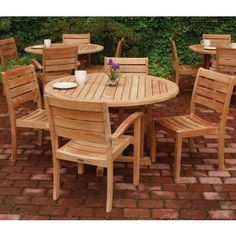 Outdoor Rochester Stone Art Bistro Table