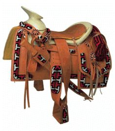 This looks like a Mexican Saddle to me....