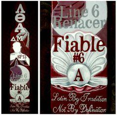 Lambda Theta Alpha paddle ~by Alind @alindheartzu  alind55.wix.com/alindpaddles  #lambdathetaalpha #sorority #paddle #greeklife #ΛΘΑ #LTA