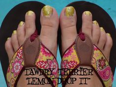 "@TawdryTerrier ""Lemon Drop It"" - 1 bottle available at https://www.etsy.com/shop/TawdryTerrier #nailpolish #indienailpolish #tawdryterrier"