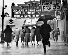 """Gordon Parks - """"Harlem Neighborhood"""", Harlem 1952"""