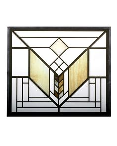 The Frank Lloyd Wright Lake Geneva Tulip Stained Glass is an adaptation of the tulip window created for the Lake Geneva Inn (now demolished), in Lake Geneva, Wisconsin. This stained glass panel has been developed in association with the Frank Lloyd Wright Foundation. On this glass panel, enamel colors are individually applied to a single sheet of glass which is then kiln fired to permanently fuse the enamels to the glass. The glass panel is then framed with a metal came and includes a…