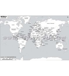 Diagram of the world map city maps map of major cities of the world buy black and white world map gumiabroncs Image collections