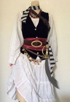 Image result for homemade pirate costume
