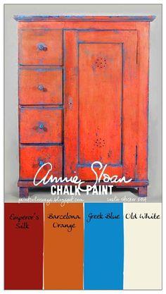kleurencombinatie Annie Sloan krijtverf