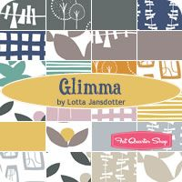Love this fabric collection - Glimma by Lotta Jansdotter for Windham Fabrics