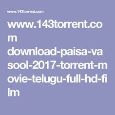 www.143torrent.com download-paisa-vasool-2017-torrent-movie-telugu-full-hd-film