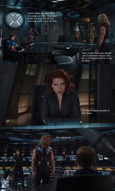 My favorite bit of funny from The Avengers - Imgur