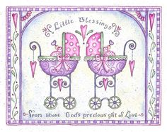 twin baby carriage- Shelly Rasche