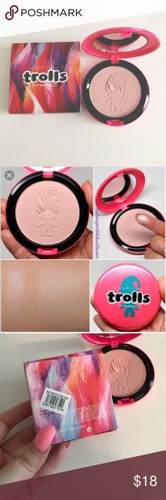 NEW MAC Trolls Play It Proper Beauty Powder Brand new and authentic. Gorgeous packaging. Limited edition collection MAC Cosmetics Makeup Luminizer